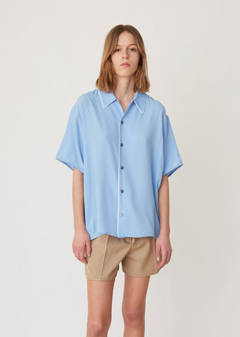 Washed Crepe Blouse