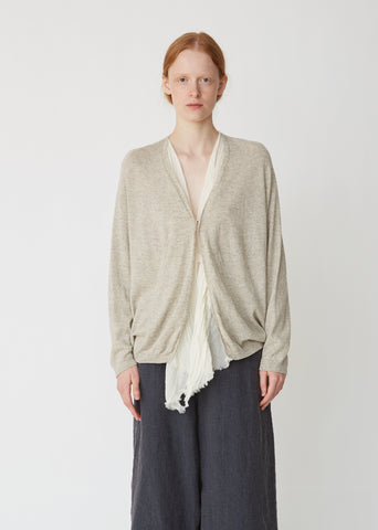 Organic Cotton Yak Cardigan