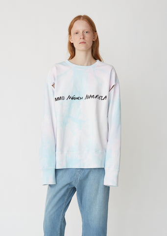 Tie Dye Long Sleeve Sweatshirt