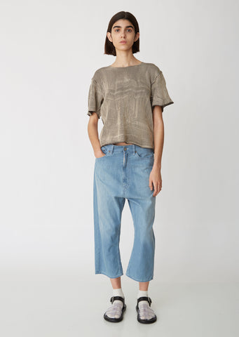 Drop Crotch Denim Pants