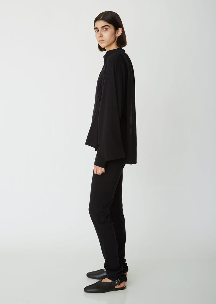 Jersey Button Cuff Pants