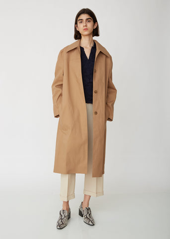 Onna Bonded Mac Coat