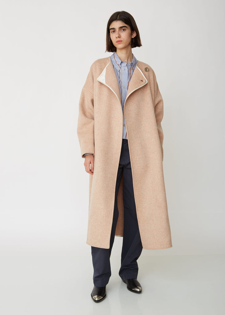 Felton Wool and Cashmere Coat
