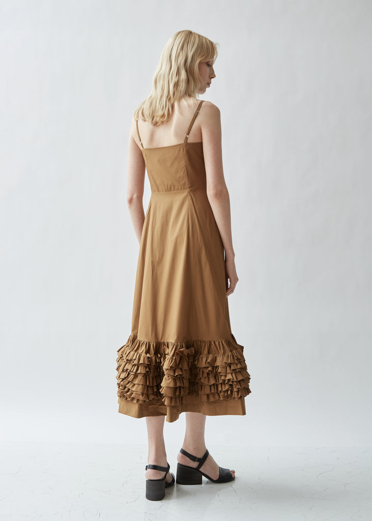 Susie Ruffled Sleeveless Dress