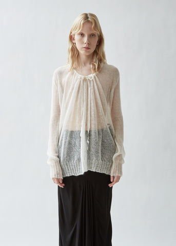 Rilke Ribbon Knit Top