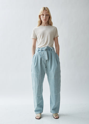 Martial Denim Pants