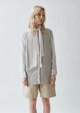 Pyjama Stripe Buttondown Shirt