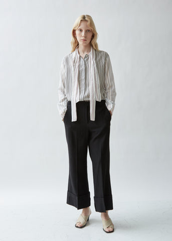Sailor Wool Turn Up Trouser