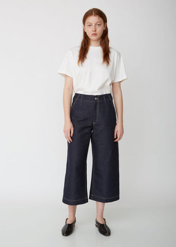 Pietra Cotton Linen Denim Pant