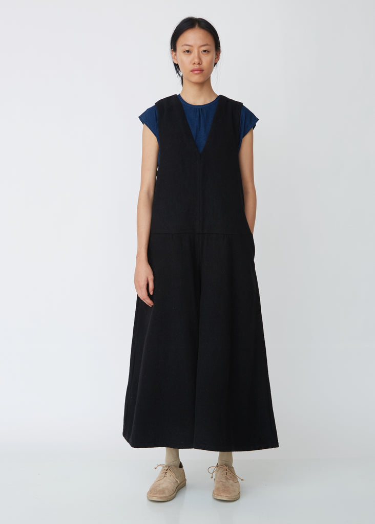 Melton Wool Jumpsuit