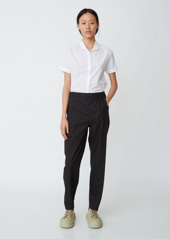 Visible Cotton Poplin Trousers