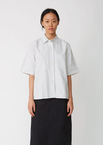 Short Sleeve Pocket Swing Shirt