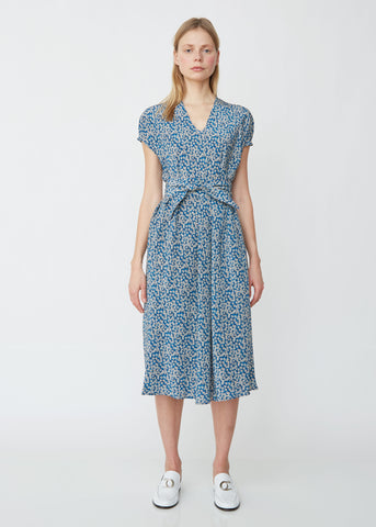Liberty Silk Crepe Floral Dress