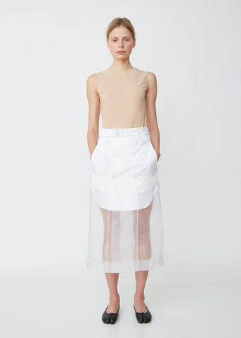 Layered Organdis Skirt