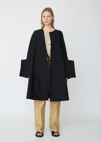 a1472946d9321 Grayson Structured Cuff Wool Coat