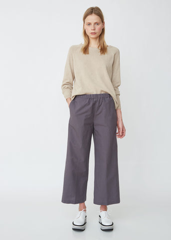 Pinstriped Wide Leg Trousers