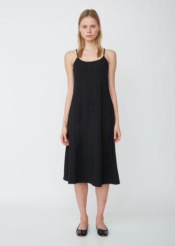 Oxford Garment Treated Sleeveless Dress
