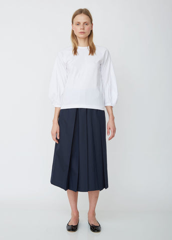 Polyester Chambray Cloth Skirt