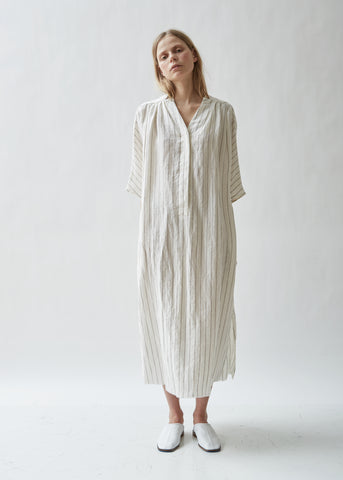 Seya Linen Caftan Dress