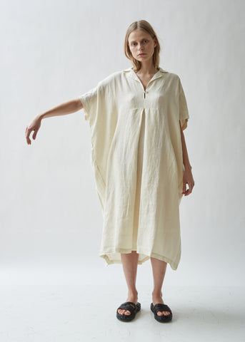 Kite Short Sleeve Linen Dress