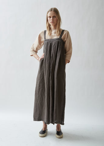 Linen Wide Sleeveless Jumper