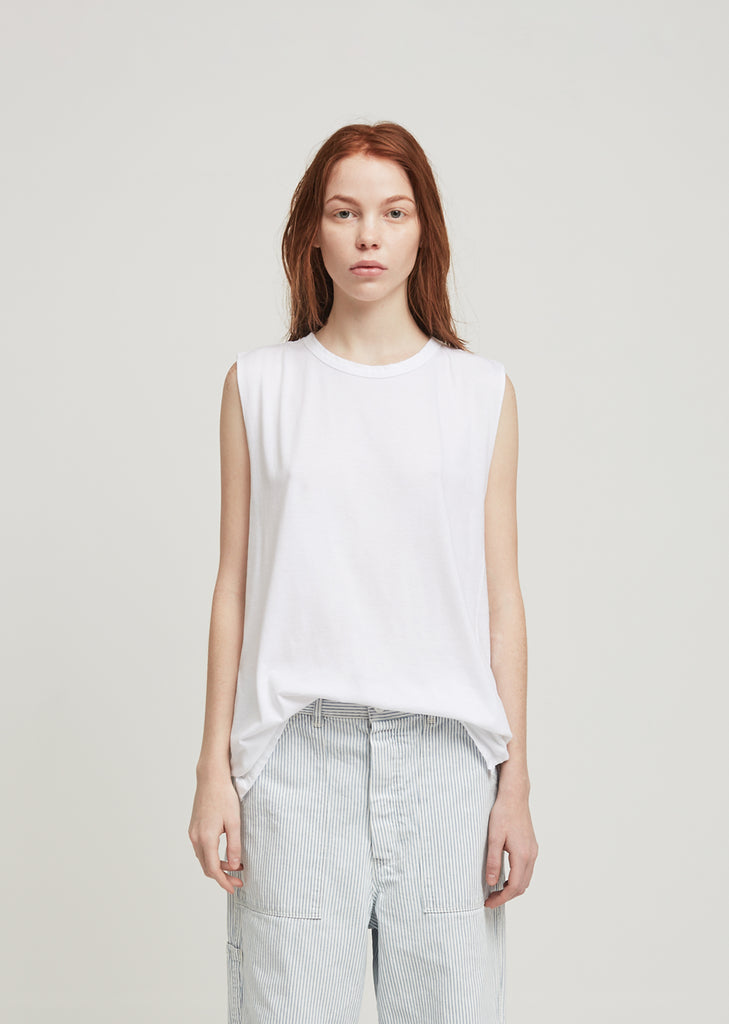 Cotton Modal Jersey Muscle Tee
