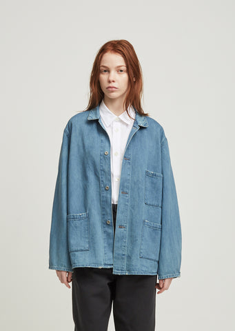 Unisex Denim Work Jacket