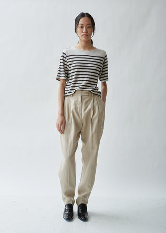 Pati Linen Tapered Trousers