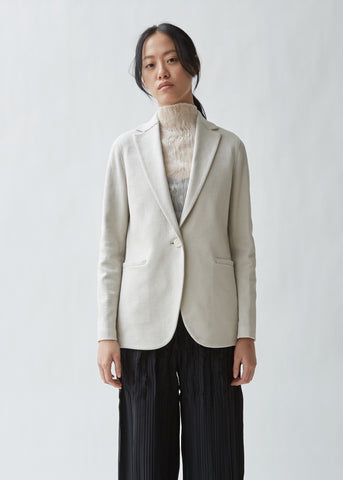 Welt Pocket Boyfriend Blazer Canvas