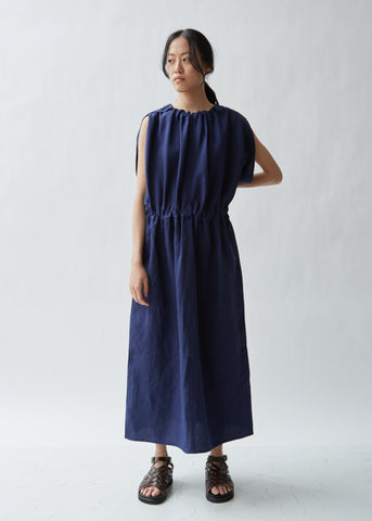 Dyona Sleeveless Linen Dress