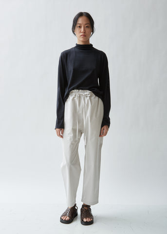 Peak Cotton Super Poplin Trouser