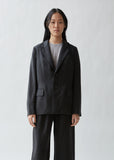 Notched Collar Two Button Jacket