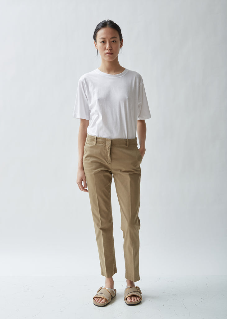 Classic Cotton Chino Trousers