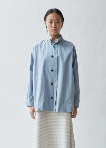 Region Poplin Shirt Jacket