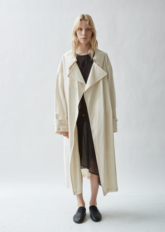 Cotton U-Trench Coat