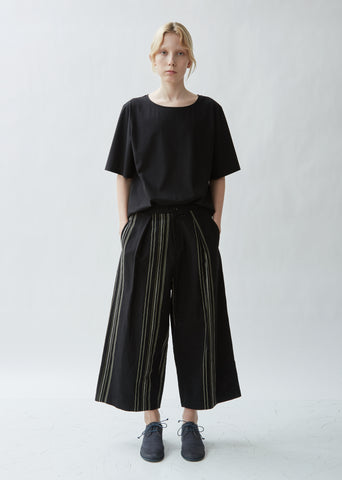 Wide Leg Cotton Linen Pants