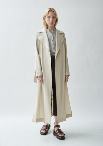 Candor Stretch Wool Twill Coat