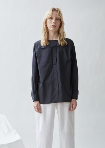 Brix Crispy Cotton Silk Shirt