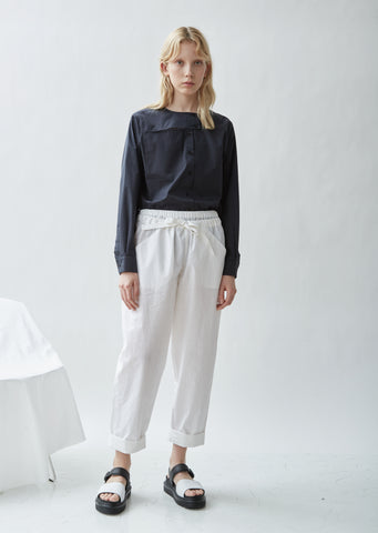 Paron Coated Linen Pants