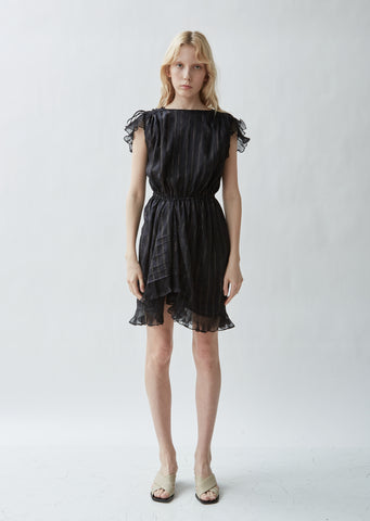 Marisa Lamé Ruffled Dress
