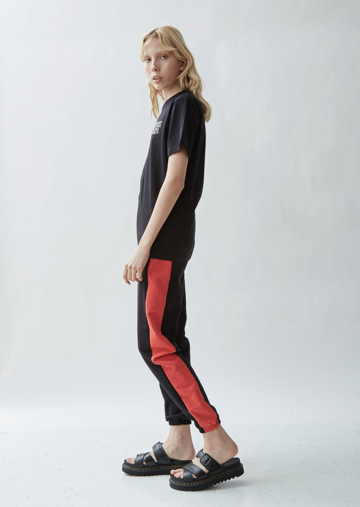 Athletic Cotton Colorbocked Sweatpants