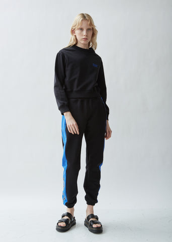 Athletic Cotton Colorblocked Sweatpants