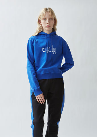 Empathy Hooded Washed Sweatshirt
