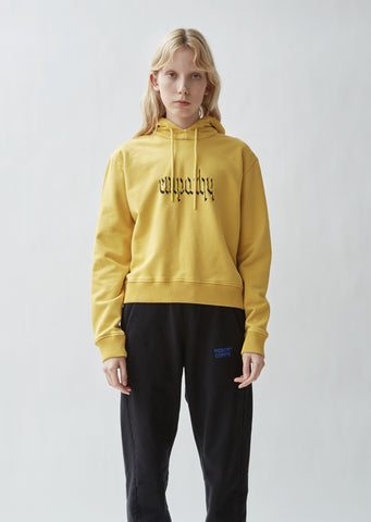 Empathy Hooded Sweatshirt Washed