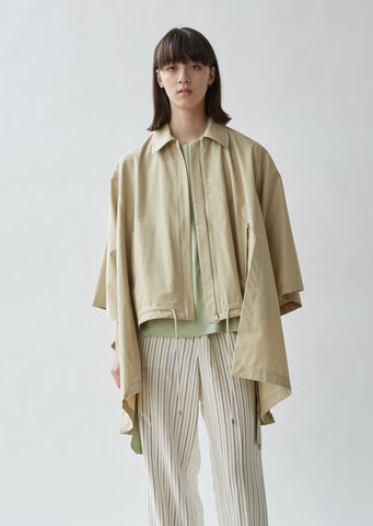 Cape Trench Cotton Jacket