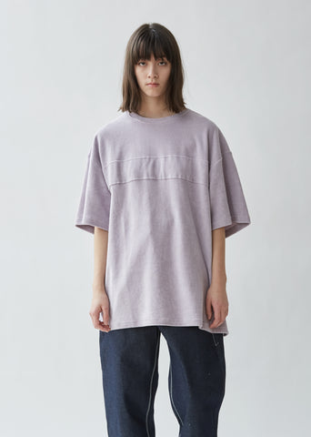 Oversized Terry Cotton Tee