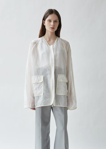Silk Organdy Jacket