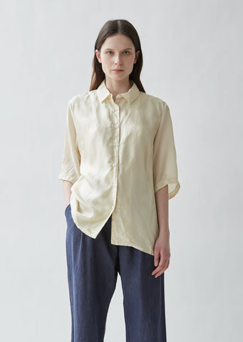 Silk Habotai Shirt