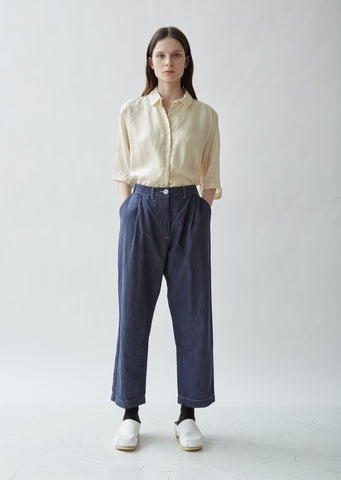 Basic Indigo Pants