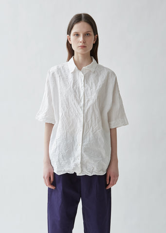 Washed Paper Cotton Shirt